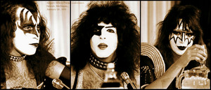 KISS ~Airport Hilton Press conference...Detroit Michigan 1976