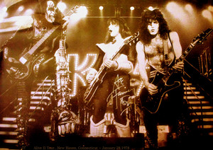 KISS Alive II Tour…New Haven, Connecticut ~ January 28, 1978
