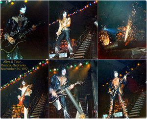 Kiss Alive II Tour…Omaha, Nebraska ~November 30, 1977