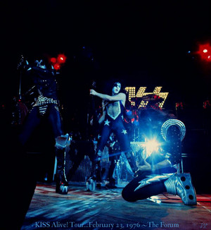 Kiss Alive! Tour…February 23, 1976 ~The forum