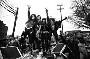 KISS ~Cadillac High School…Cadillac Michigan ~October 9, 1975