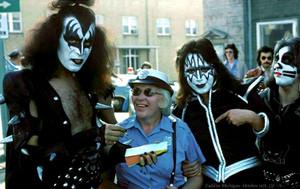 Kiss ~Cadillac Michigan October 1975