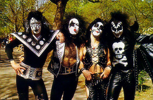 KISS…Central Park, New York City ~ April 24, 1974