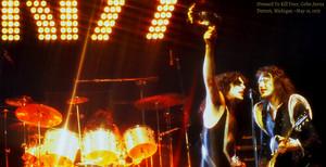 KISS…Dressed To Kill Tour ~Cobo Arena Detroit, Michigan ~May 16, 1975