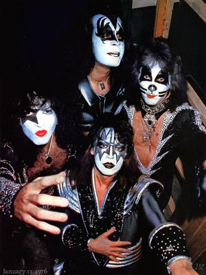 KISS ~January 13, 1976