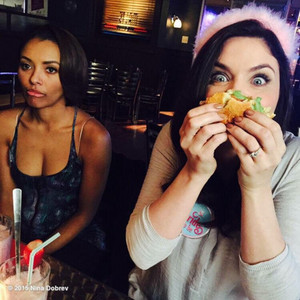 Kat Graham and Jodi Lyn O'Keefe