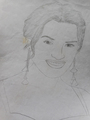 Kate Winslet drawing
