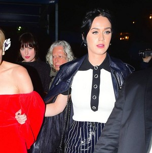 Katy Perry at Karl Lagerfeld's Chanel नाव Party in NY