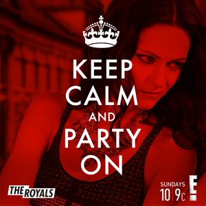 Keep Calm and Party On - Princess Eleanor