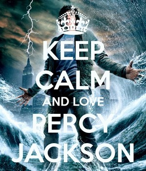 Keep calm and love Percy Jackson The Olympians and the Lightning thief