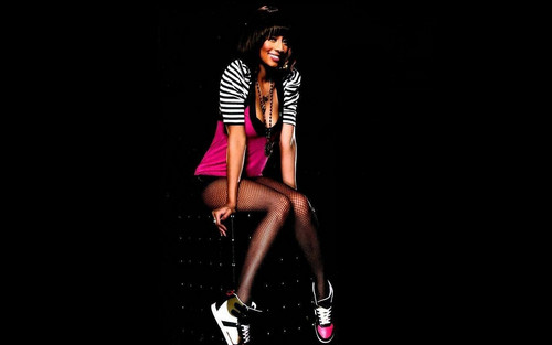Keri Hilson wallpaper possibly containing tights and a leotard entitled Keri Hilson bae