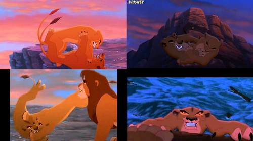 the lion king wallpaper called Kiara vs. Zira