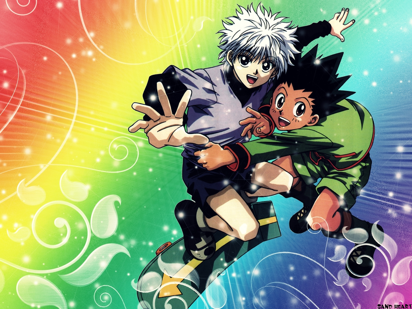 Killua and Gon
