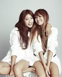 Kim Hyu Jung and Yoon Bora