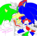 King and Blue Uke - sonic-yaoi icon