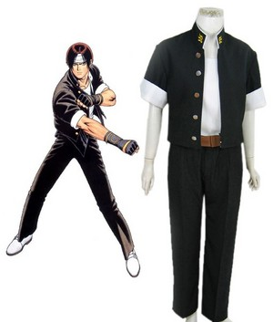 King of Fighters97 Kyo Kusanagi Fighting Uniform Cosplay Costume