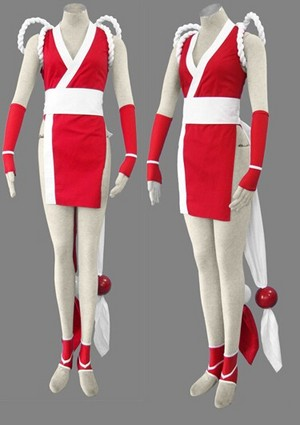 King of Fighters97 Mai Shiranui Fighting Uniform Cosplay Costume