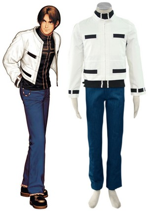 King of Fighters99 Kyo Kusanagi Fighting Uniform Cosplay Costume