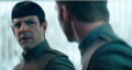 Kirk and Spock - star-trek-into-darkness photo