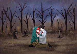 Kokoa x Tsukune Cinta fanfiction