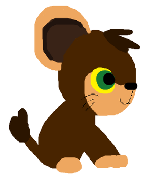 Kovu as a Litleo