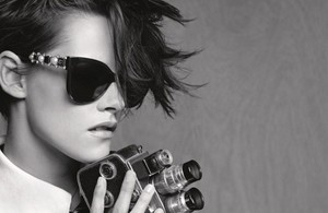 Kristen Stewart for Chanel Eyewear, Spring 2015