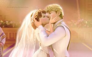 Kristoff and Anna's Wedding