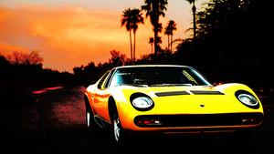 Lamborghini Miura hình nền