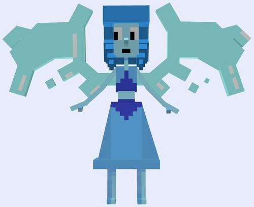 スティーブン・ユニバース 壁紙 entitled Lapis Lazuli - Minecraft(マインクラフト)