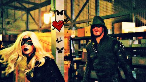 Oliver & laurel karatasi la kupamba ukuta entitled laurel and Oliver ukuta
