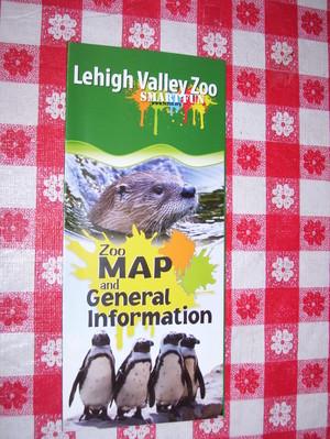 Lehigh Valley Zoo Brochure Cover