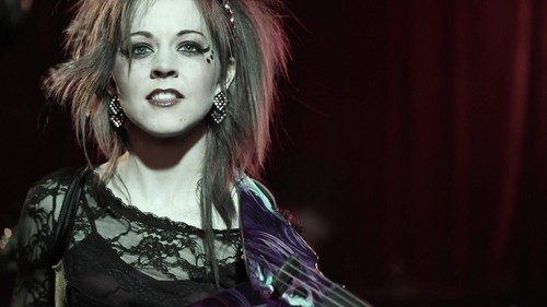 Lindsey Stirling wallpaper possibly containing a portrait titled Lindsey Stirling - Phantom of the Opera