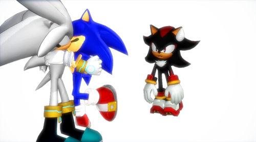 Sonic Yaoi karatasi la kupamba ukuta called Lol Shadow