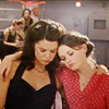 Gilmore Girls photo containing a portrait titled Lorelai and Rory