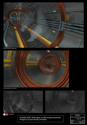 Lothal City Sewers Concept Art