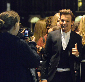 Louis arriving Bloomsbury Ballroom