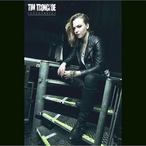 Lzzy Hale portrayed by Tim Tronckoe