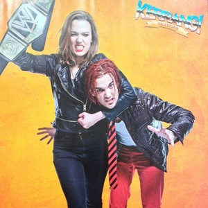 Lzzy and Arejay Hale for Kerrang!