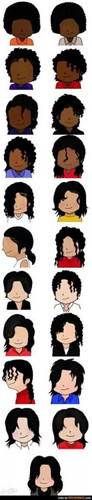 Michael Jackson تصویر possibly containing a pacific sardine and an atlantic herring called MJ Hair :)