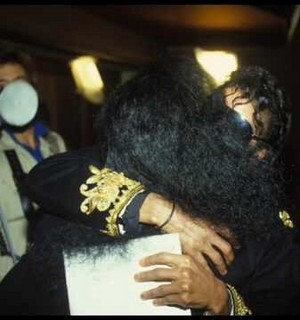 MJ and Diana Ross