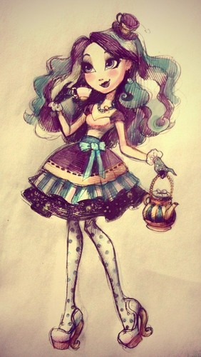 ever after high fondo de pantalla possibly containing anime titled Maddie