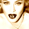Madonna photo with a portrait entitled Madonna icone