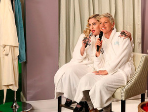 マドンナ on Ellen 2015