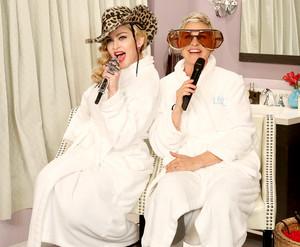 麦当娜 on Ellen 2015