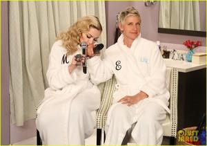 Madonna on Ellen 2015