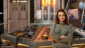 Maisie Williams - TARDIS