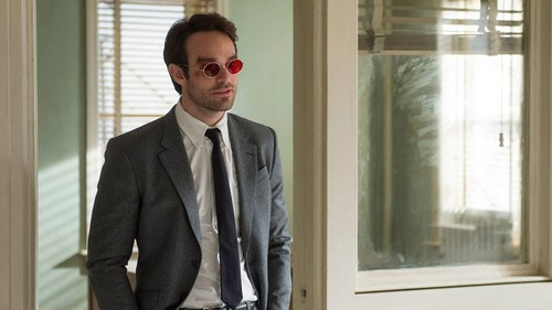 Daredevil (Netflix) 壁紙 with a business suit, a suit, and a three piece suit titled Matt Murdock