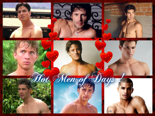 Days of Our Lives wallpaper probably with skin called Men of Days of Our Lives