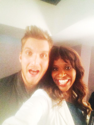 Merrin Dungey and Scott Michael Foster