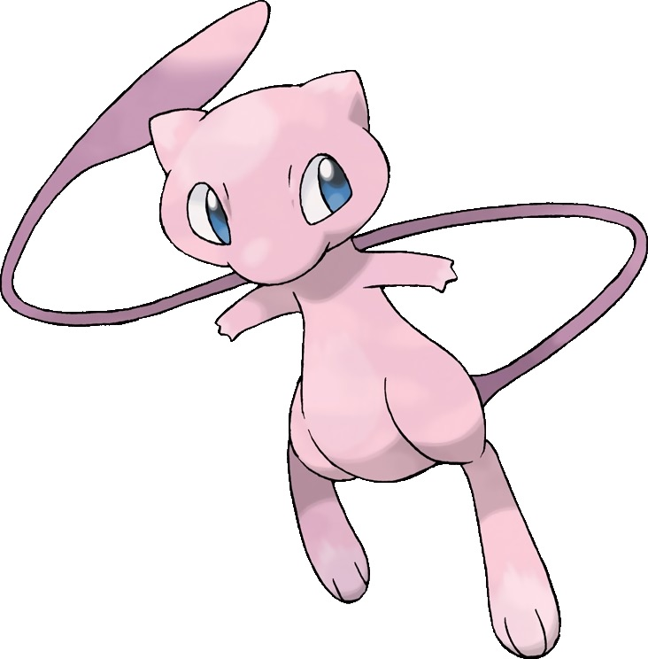 Mew the ledgendary Pokémon
